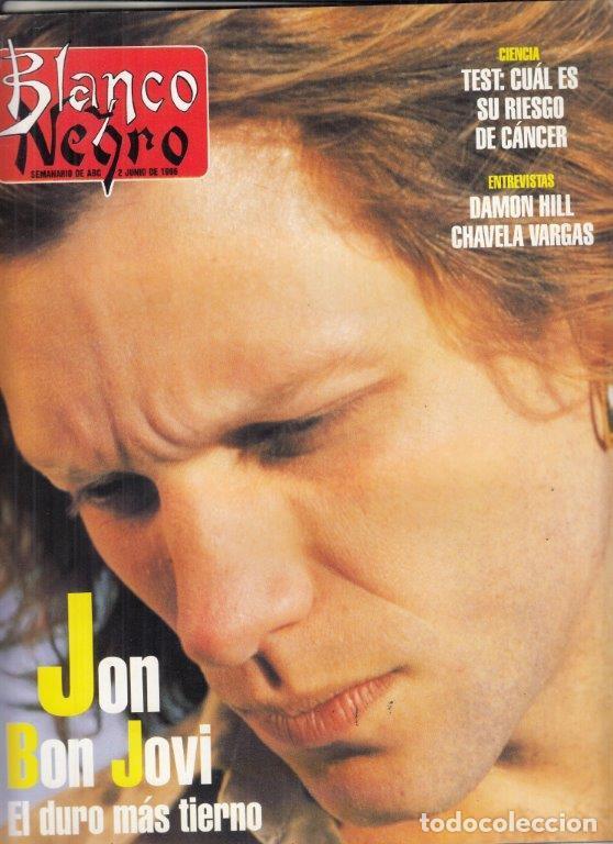 REVISTA BLANCO Y NEGRO Nº 4014 AÑO 1996. JON BON JOVI. DAMON HILL. CHAVELA VARGAS. JORGE FIN. (Coleccionismo - Revistas y Periódicos Modernos (a partir de 1.940) - Blanco y Negro)