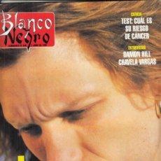 Coleccionismo de Revista Blanco y Negro: REVISTA BLANCO Y NEGRO Nº 4014 AÑO 1996. JON BON JOVI. DAMON HILL. CHAVELA VARGAS. JORGE FIN.. Lote 277139453