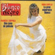 Coleccionismo de Revista Blanco y Negro: REVISTA BLANCO Y NEGRO Nº 4013 AÑO 1996. CRISTINA SÁNCHEZ. FABIO CAPELLO. MATÍAS QUETGLAS.. Lote 277139713