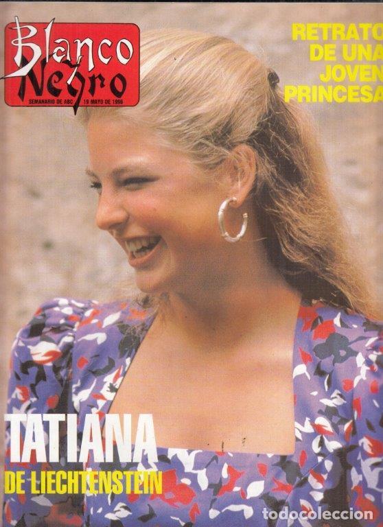 REVISTA BLANCO Y NEGRO Nº 4012 AÑO 1996.TATIANA DE LIECHTENSTEIN. EROS RAMAZOTTI. RADOMIR ANTIC. (Coleccionismo - Revistas y Periódicos Modernos (a partir de 1.940) - Blanco y Negro)