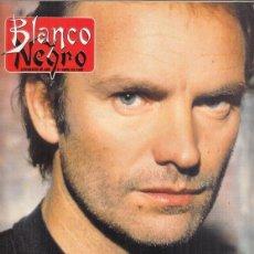 Coleccionismo de Revista Blanco y Negro: REVISTA BLANCO Y NEGRO Nº 4008 AÑO 1996. STING. MIGUEL PÉREZ. JACKIE KENNEDY.. Lote 277143463