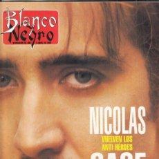 Coleccionismo de Revista Blanco y Negro: REVISTA BLALNCO Y NEGRO Nº 4006 AÑO 1996. NICOLAS CAGE.KIKO. FÉLIZ DE LA CONCHA. SIGOURNEY WEAVER.. Lote 277144148
