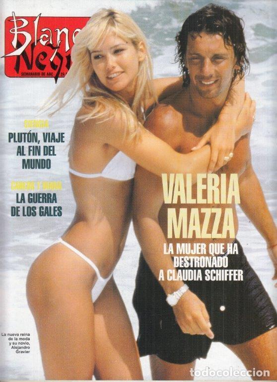 REVISTA BLANCO Y NEGRO Nº 4004. AÑO 1996. VALERIA MAZZA. CARLOS Y DIANA. WERMEER. (Coleccionismo - Revistas y Periódicos Modernos (a partir de 1.940) - Blanco y Negro)