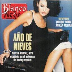 Coleccionismo de Revista Blanco y Negro: REVISTA BLANCO Y NEGRO Nº 4002 AÑO 1996. ENRIQUE PONCE. ÁNGELA MOLINA. NIEVES ÁLVAREZ.. Lote 277146143
