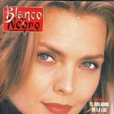 Coleccionismo de Revista Blanco y Negro: REVISTA BLANCO Y NEGRO Nº 3995 AÑO 1996. MICHELLE PFEIFFER. JOSÉ MANUEL CIRIA.. Lote 277148183