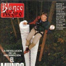 Coleccionismo de Revista Blanco y Negro: REVISTA BLANCO Y NEGRO Nº 3994 AÑO 1996. ANTHONY QUINN. JAVEIR RUIZ. BILL GATES.. Lote 277148558