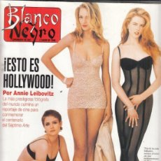 Coleccionismo de Revista Blanco y Negro: REVISTA BLANCO Y NEGRO Nº 3993 AÑO AÑO 1996. ¿ESTO E HOLLYWOOD!. JOAQUÍN CORTES. MARIAH CAREY.. Lote 277148898