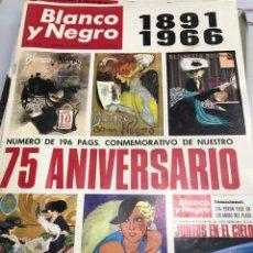 Coleccionismo de Revista Blanco y Negro: REVISTA BLANCO Y NEGRO NÚMERO 2818 DEL 7 DE MAYO DE 1966. Lote 277155568
