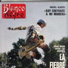 Coleccionismo de Revista Blanco y Negro: REVISTA BLANCO Y NEGRO Nº 3610 AÑO 1988. MANUEL SOLIS. MANUEL RIVERA. FRAFAEL ALBERTI.. Lote 277505113
