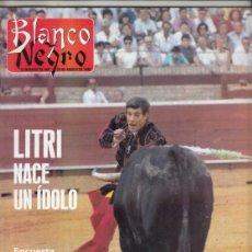 Coleccionismo de Revista Blanco y Negro: REVISTA BLANCO Y NEGRO Nº 3609 AÑO 1988. LE LITRI.MANUEL MORENO. VICENTE ARNÁS. NORMA DUVAL.. Lote 277505848