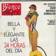Coleccionismo de Revista Blanco y Negro: REVISTA BLANCO Y NEGRO Nº 3608 AÑO 1988. WERNER KNUTH. JOSÉ LAMIEL. JUAN ANTONIO CORBALÁN.. Lote 277506498