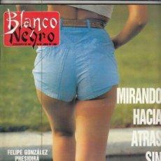 Coleccionismo de Revista Blanco y Negro: REVISTA BLANCO Y NEGRO Nº 3600 AÑO 1988. PEDRO ALMODÓVAR. LUIS LLONGUERAS. CRISTÓBAL TORAL.. Lote 277510353