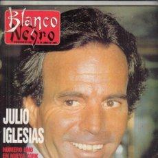 Coleccionismo de Revista Blanco y Negro: REVISTA BLANCO Y NEGRO Nº 3598 AÑO 1988. JULIO IGLESIAS.FEDERICO SOPEÑA. FORTUNY. JM. SANTACREU.. Lote 277511483