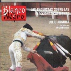 Coleccionismo de Revista Blanco y Negro: REVISTA BLANCO Y NEGRO Nº 3595 AÑO 1988. JULIO ANGUITA.EL ROCIO. LOS AÑOS OSCUROS DE GOYA.. Lote 277513783