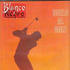 Coleccionismo de Revista Blanco y Negro: REVISTA BLANCO Y NEGRO Nº 3594 AÑO 1988. TERENCI MOIX. LUIS FEITO. MADRID Y SUS MIL Y UNA NOCHE.. Lote 277514208