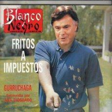 Coleccionismo de Revista Blanco y Negro: REVISTA BLANCO Y NEGRO Nº 3592 AÑO 1988. JOSÉ CELMA. SICILIA. JAVIER GURRUCHAGA.. Lote 277514933