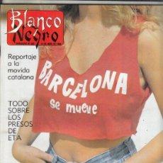 Coleccionismo de Revista Blanco y Negro: REVISTA BLANCO Y NEGRO Nº 3591 AÑO 1988. RAMON MENDOZA. ANTONIO BUERO VALLEJO. SERNY.. Lote 277515358