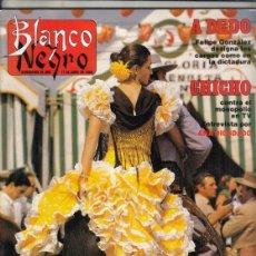 Coleccionismo de Revista Blanco y Negro: REVISTA BLANCO Y NEGRO Nº 3590 AÑO 1988. LUIS OLARRA. FRANCISCO LOZANO. CHICHO IBAÑEZ SERRADOR.. Lote 277515758