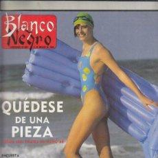 Coleccionismo de Revista Blanco y Negro: REVISTA BLANCO Y NEGRO Nº 3587. JOSE LUIS GARCI. LOS HOMBRES G.. Lote 277516793