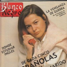 Coleccionismo de Revista Blanco y Negro: REVISTA BLANCO Y NEGRONº 3586 AÑO 1988. CECILE ELUARD. FRANCISCO NIEVA.. Lote 277517143
