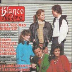 Coleccionismo de Revista Blanco y Negro: REVISTA BLANCO Y NEGRO Nº 3584 AÑO 1988. IMANOL ARIAS. FELIPE GONZALEZ.. Lote 277518053