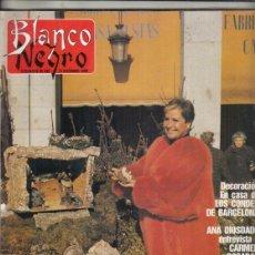 Coleccionismo de Revista Blanco y Negro: REVISTA BLANCO Y NEGRO Nº 3626 AÑO 1988. LINA MORGAN. ANTONIO CATALÁN. CARMEN POSADAS.. Lote 277600923