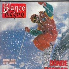 Coleccionismo de Revista Blanco y Negro: REVISTA BLANCO Y NEGRO Nº 3625 AÑO 1988. CONDESA DE FENOSA. PEDRO CASALS. CAPILLA SIXTINA.. Lote 277601033