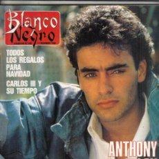 Coleccionismo de Revista Blanco y Negro: REVISTA BLANCO Y NEGRO Nº 3624 AÑO 1988. ANTHONY DELON. JOSÉ LUIS MOLINA. FEDEDIRO JIMÉNEZ LOSANTOS.. Lote 277601498