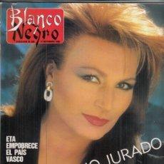 Coleccionismo de Revista Blanco y Negro: REVISTA BLANCO Y NEGRO Nº 3622 AÑO 1988. ROCIO JURADO. JOSÉ ESTÉVEZ.. Lote 277602378