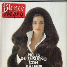 Coleccionismo de Revista Blanco y Negro: REVISTA BLANCO Y NEGRO Nº 3621 AÑO 1988. PACO IBÁÑEZ. PURIFICACIÓN GARCÍA. DARÍA VILLALBA.. Lote 277602668