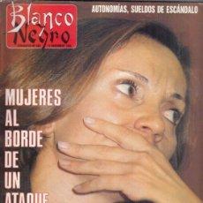 Coleccionismo de Revista Blanco y Negro: REVISTA BLANCO Y NEGRO Nº 3620 AÑO 1988. BERTÍN OSBORNE. FLORENCIAO ALDREY. MUSO LLADRÓ.. Lote 277602843