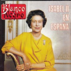Coleccionismo de Revista Blanco y Negro: REVISTA BLANCO Y NEGRO Nº 3616 AÑO 1988. ISABEL II. VICTORIO Y LUCCHINO. JUAN PABLO II. Lote 277603543