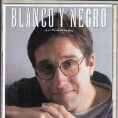 Coleccionismo de Revista Blanco y Negro: REVISTA BLANCO Y NETRO Nº 4199 AÑO 1999. EMILIO ARAGÓN. ISRRAEL. ANTONIO MARQUEZ.. Lote 278569478
