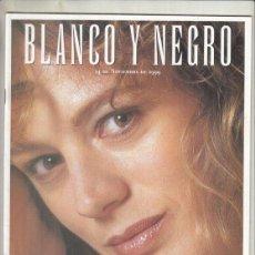Coleccionismo de Revista Blanco y Negro: REVISTA BLANCO Y NEGRO Nº 4194 AÑO 1999. EMMA SUÁREZ. GRACE KELLY. ÁLVARO DOMECQ CABALLERO.. Lote 278571223