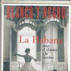 Coleccionismo de Revista Blanco y Negro: REVISTA BLANCO Y NEGRO Nº 4193 AÑO 1999. ROBIN WILLIAMS. LA HABANA. SALZKAMMERGUT.. Lote 278571413