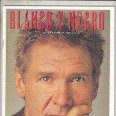 Coleccionismo de Revista Blanco y Negro: REVISTA BLANCO Y NEGRO Nº 4191 AÑO 1999. HARRISON FORD. DAVID HOWELL. CHINA: DOS CARAS DE UN DRAGÓN.. Lote 278571748