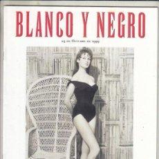 Coleccionismo de Revista Blanco y Negro: REVISTA BLANCO Y NEGRO Nº 4192 AÑO 1999. ANNESPHHIE MUTTER. MARIAH CAREY. BRIGITTE BARDOT.. Lote 278572363