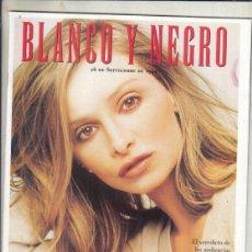 Coleccionismo de Revista Blanco y Negro: REVISTA BLANCO Y NEGRO Nº 4187 AÑO 1999. ALLY MCBEAL. MARÍA JESÚS VALDÉS. CRONICA DE INDIAS.. Lote 278573403