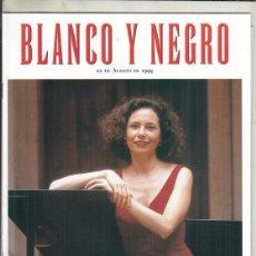 Coleccionismo de Revista Blanco y Negro: REVISTA BLANCO Y NEGRO Nº 4182 AÑO 1999. ROMAN POLANSKI. JOANE SOMARRIBA.. Lote 278575048