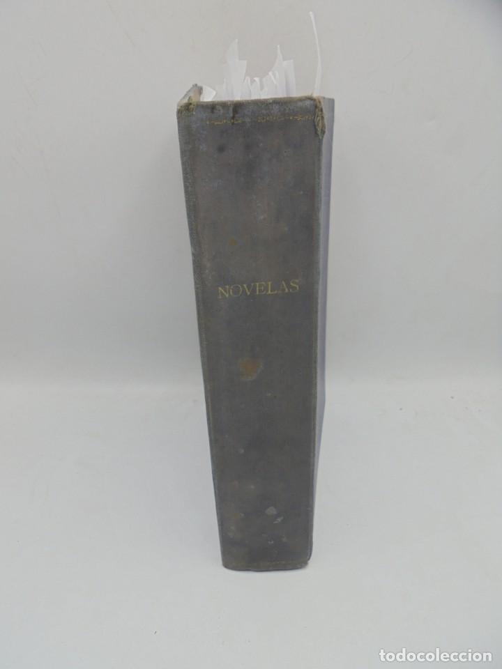 Coleccionismo de Revista Blanco y Negro: BLANCO Y NEGRO. 15 NOVELAS ENCUADERNADAS. 1934-35-36. VER FOTOS. LEER. - Foto 2 - 282528293