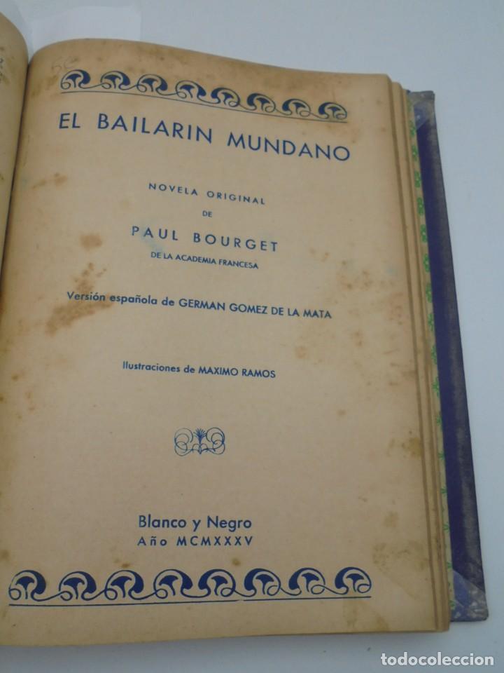 Coleccionismo de Revista Blanco y Negro: BLANCO Y NEGRO. 15 NOVELAS ENCUADERNADAS. 1934-35-36. VER FOTOS. LEER. - Foto 13 - 282528293