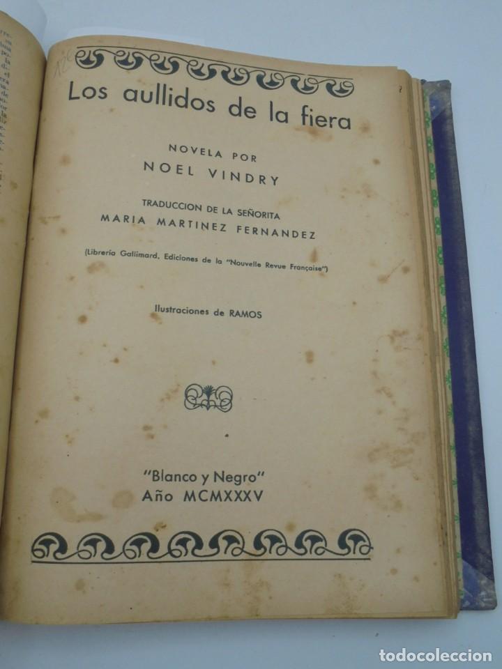 Coleccionismo de Revista Blanco y Negro: BLANCO Y NEGRO. 15 NOVELAS ENCUADERNADAS. 1934-35-36. VER FOTOS. LEER. - Foto 14 - 282528293