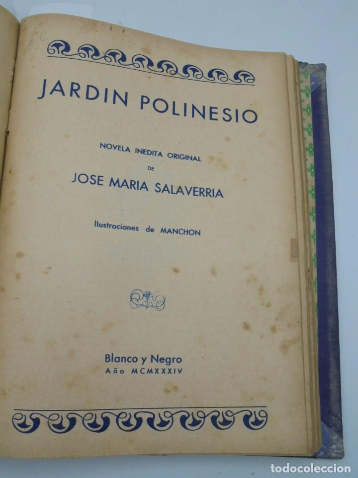 Coleccionismo de Revista Blanco y Negro: BLANCO Y NEGRO. 15 NOVELAS ENCUADERNADAS. 1934-35-36. VER FOTOS. LEER. - Foto 15 - 282528293