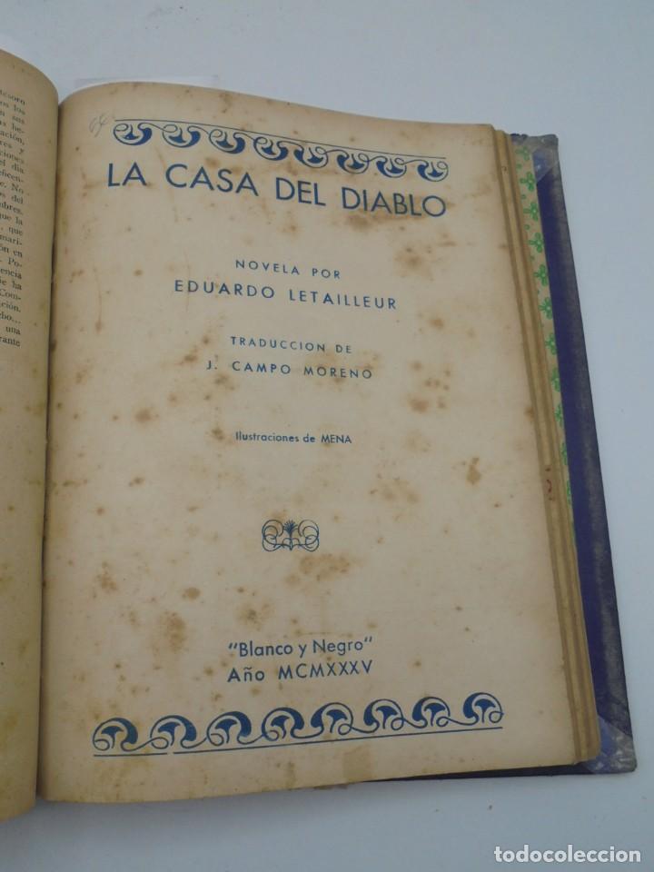 Coleccionismo de Revista Blanco y Negro: BLANCO Y NEGRO. 15 NOVELAS ENCUADERNADAS. 1934-35-36. VER FOTOS. LEER. - Foto 16 - 282528293