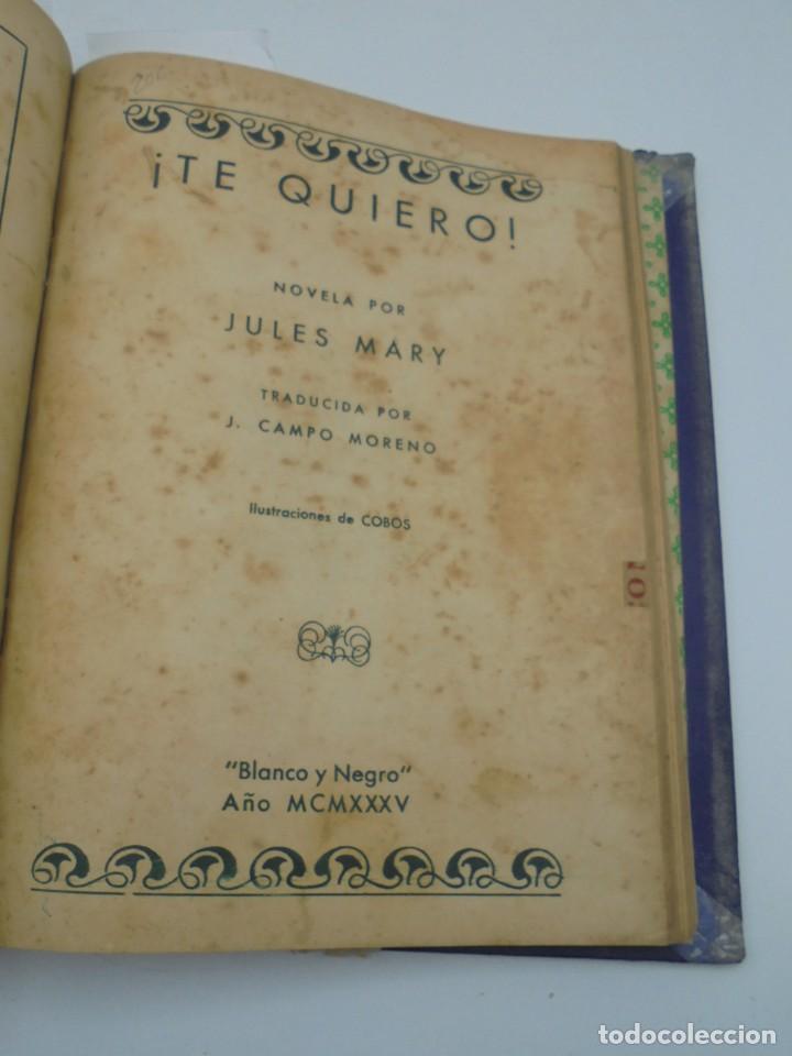 Coleccionismo de Revista Blanco y Negro: BLANCO Y NEGRO. 15 NOVELAS ENCUADERNADAS. 1934-35-36. VER FOTOS. LEER. - Foto 17 - 282528293