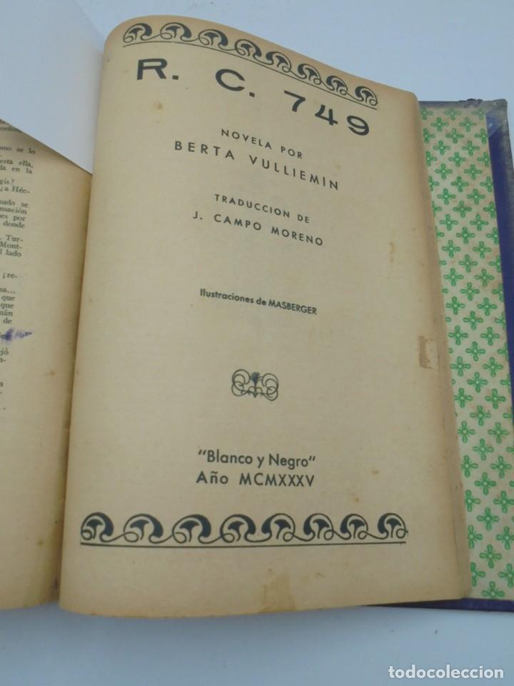 Coleccionismo de Revista Blanco y Negro: BLANCO Y NEGRO. 15 NOVELAS ENCUADERNADAS. 1934-35-36. VER FOTOS. LEER. - Foto 18 - 282528293