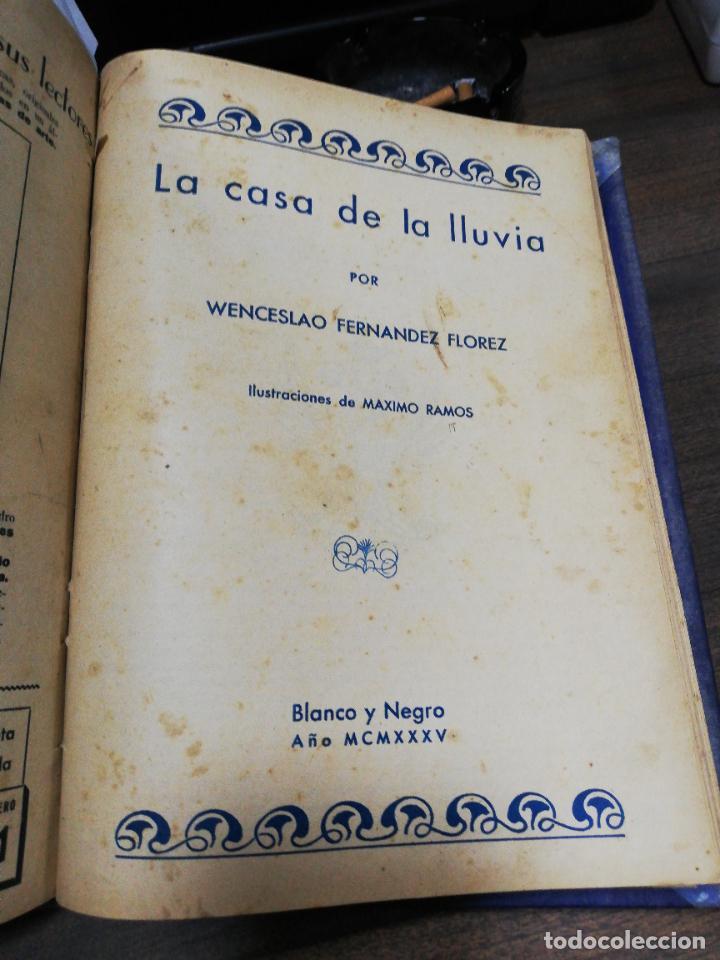Coleccionismo de Revista Blanco y Negro: BLANCO Y NEGRO. 15 NOVELAS ENCUADERNADAS. 1934-35-36. VER FOTOS. LEER. - Foto 19 - 282528293