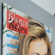 Coleccionismo de Revista Blanco y Negro: BLANCO Y NEGRO 3853. ANA OBREGÓN, JON BON JOVI, BORIS BECKER, ALBAHACA, ANDIE MCDOWELL, NATI MISTRAL. Lote 285109508