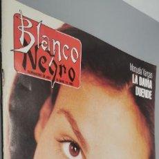 Coleccionismo de Revista Blanco y Negro: REVISTA BLANCO Y NEGRO Nº 3957 AÑO 1995. INÉS SASTRE. MANUELA VARGAS. GABINETE GALIGARI. A. DERAIN.. Lote 285297918