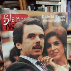 Coleccionismo de Revista Blanco y Negro: REVISTA BLANCO Y NEGRO. N. 4000. 1996. AZNAR. Lote 286841753